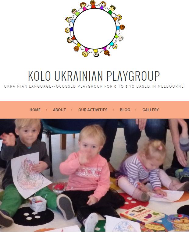 Kolo Ukrainian Playgroup